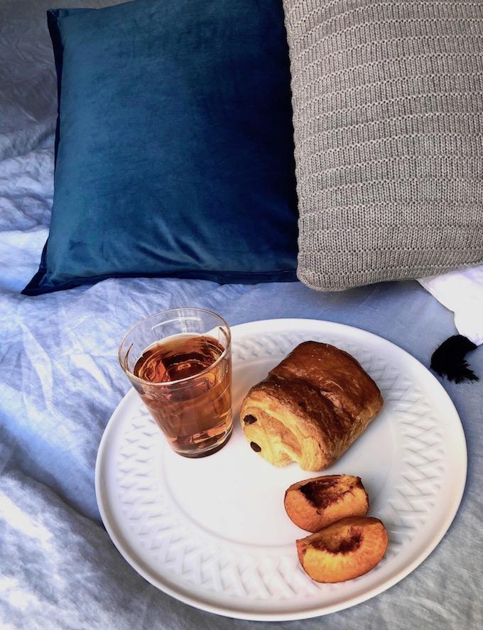 usine mode et maison petit dej lit lin blog déco clem around the corner.