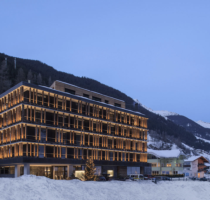 hôtel chic en pleine montagne station ski tyrol autriche blog déco clem around the corner