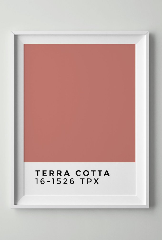 couleur terracotta rose blush pantone référence blog déco clem around the corner