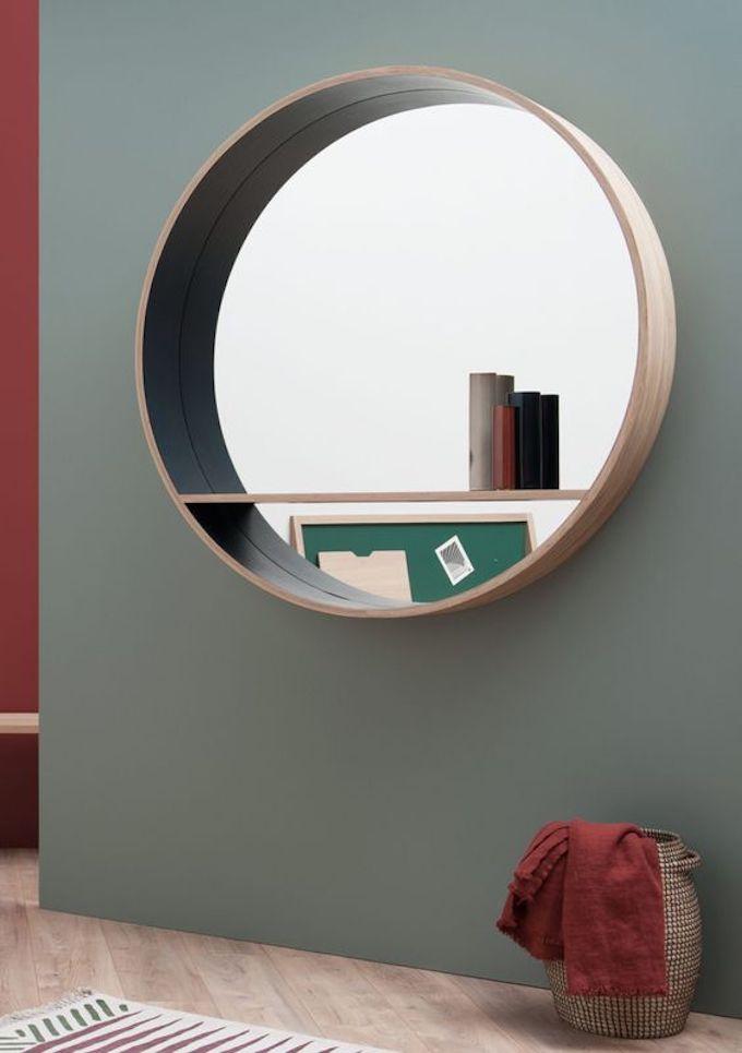 drugeot manufacture miroir console bois sobre blog déco clemaroundthecorner