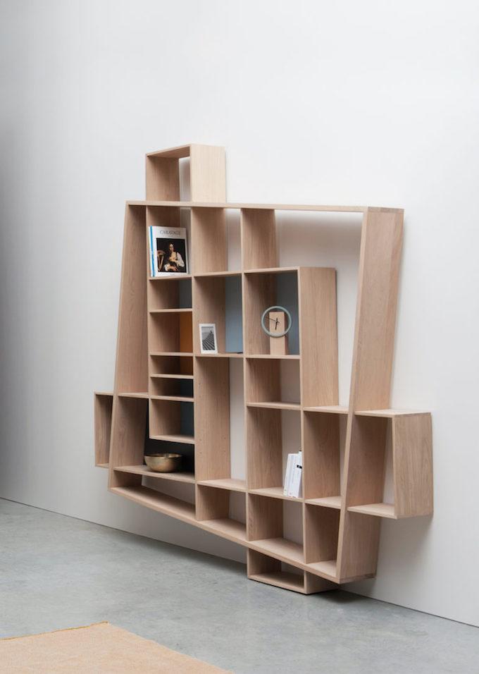 drugeot manufacture frisco bibliothèque originale design déstructurée pièce collection décoration blog déco clemaroundthecorner