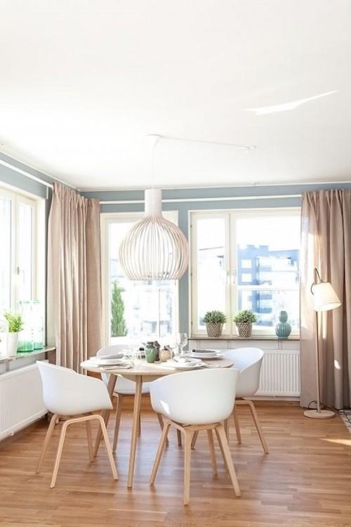 comment aménager 20m2 salon rideau déco scandinave pinterest rideaux