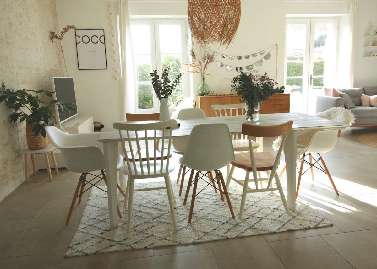 Deco Salle A Manger Scandinave assortir des chaises dépareillées : 9 conseils