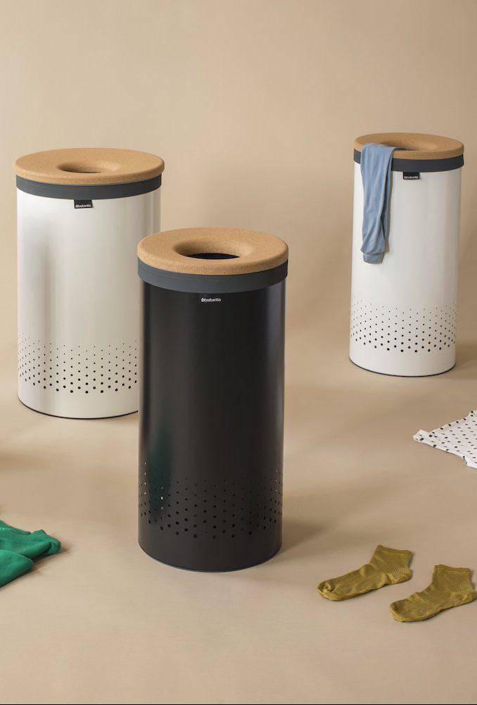 brabantia salle de bain liège corbeille à linge design - blog déco - Clem Around The Corner