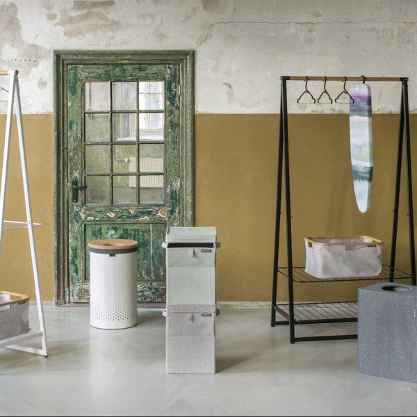 brabantia salle de bain liège panier étendoir design - blog déco - Clem Around The Corner