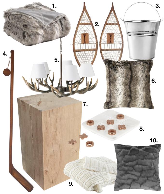 petit chalet vintage shopping liste blog deco clem around the corner