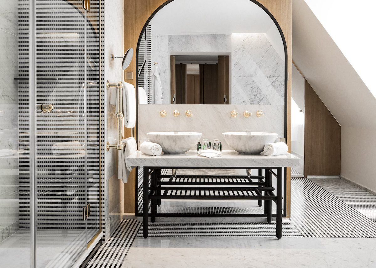 robinet personnalisable sur mesure robinetterie Stella Roma Hotel Vernet