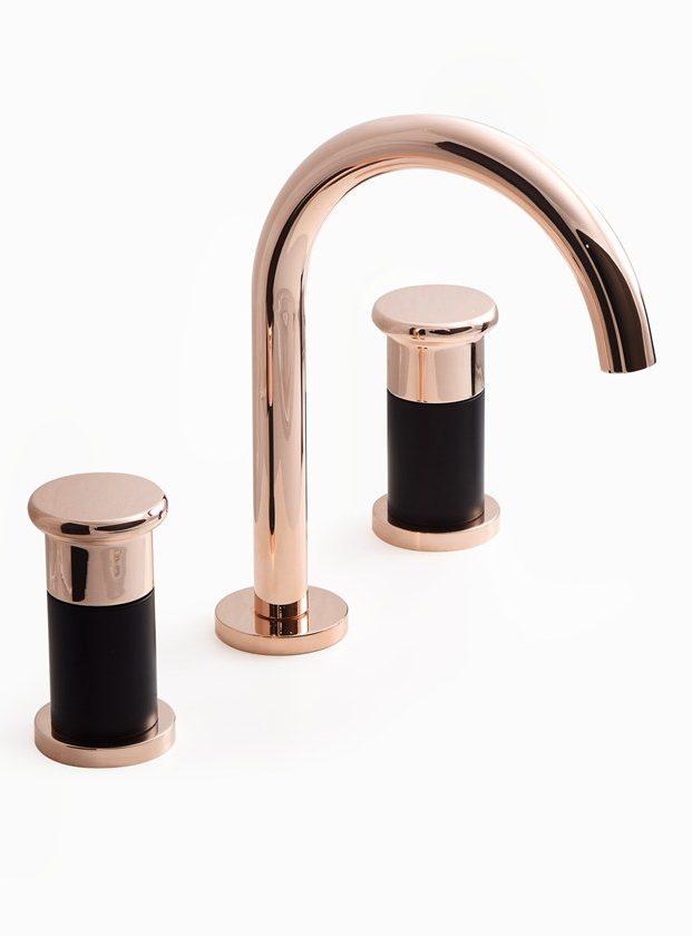 robinet personnalisable sur mesure rose gold noir mat moderne - blog déco - clem around the corner
