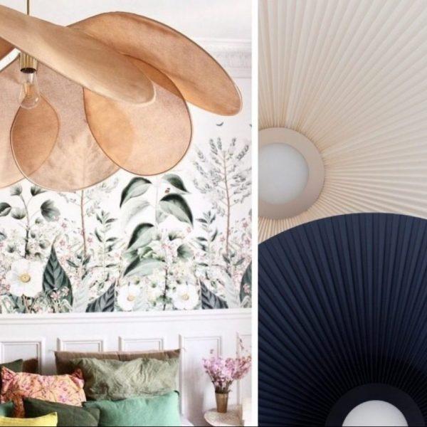 suspension géante architecturale luminaire plafond lampe décoration - blog déco - Clem Around The Corner