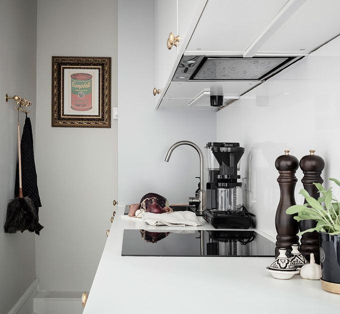 déco en noir et blanc cuisine plaques blog déco clem around the corner
