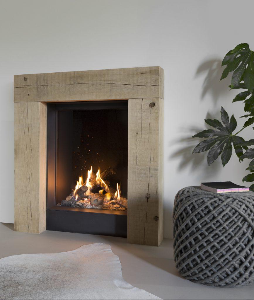 fausse cheminée gaz salon hygge scandinave blog déco intérieure - clem around the corner