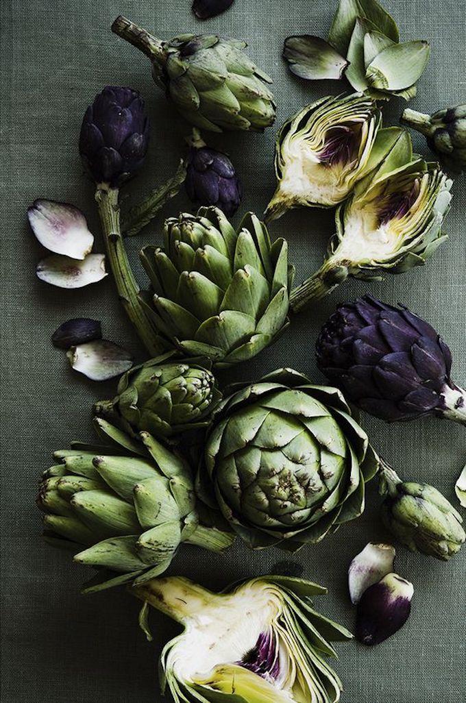 que faire avec des artichauts légume vert décoration originale végétal clemaroundthecorner blog déco