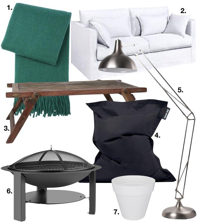 cabane dans les bois shopping liste minimaliste canapé plaid table pouf meubles extérieurs blog déco clem around the corner