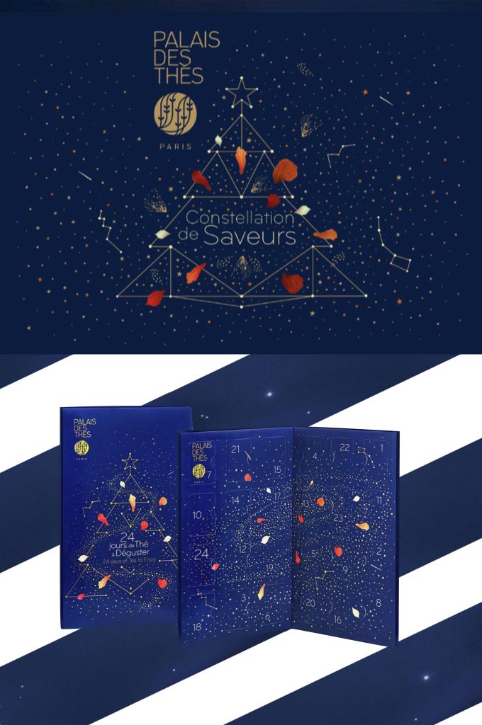 calendrier de l'avent 2018 palais des thés avis - blog déco - clem around the corner