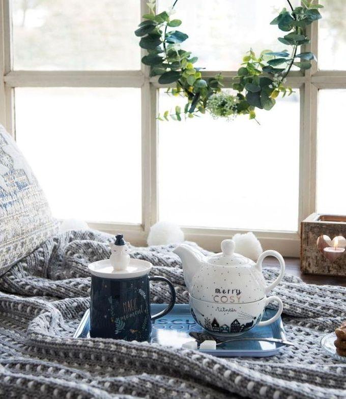 passer son appartement en mode hiver plaid pause thé goûter gâteau blog déco clem around the corner