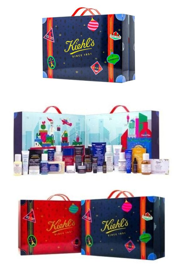 calendrier de l'avent 2018 beauté homme kiehl s avis - blog clem around the corner
