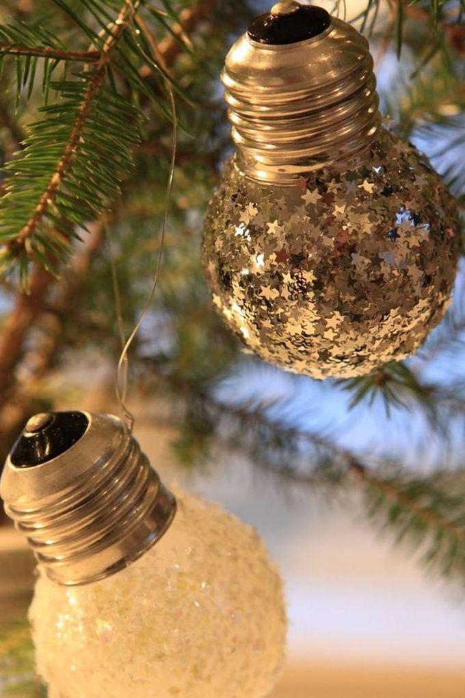 noël écologique décoration ampoule lampe boule blog déco clem around the corner