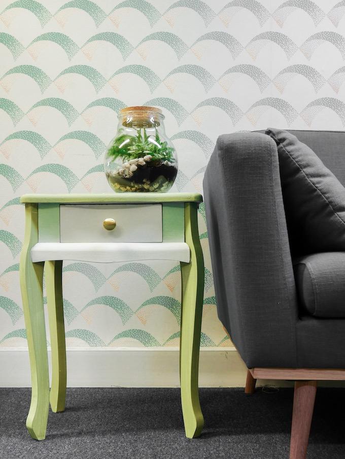customiser une table de chevet salon blog déco clem around the corner