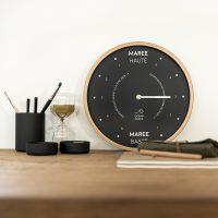 horloge marée idée cadeaux homme original bretagne marin - blog déco - clem around the corner