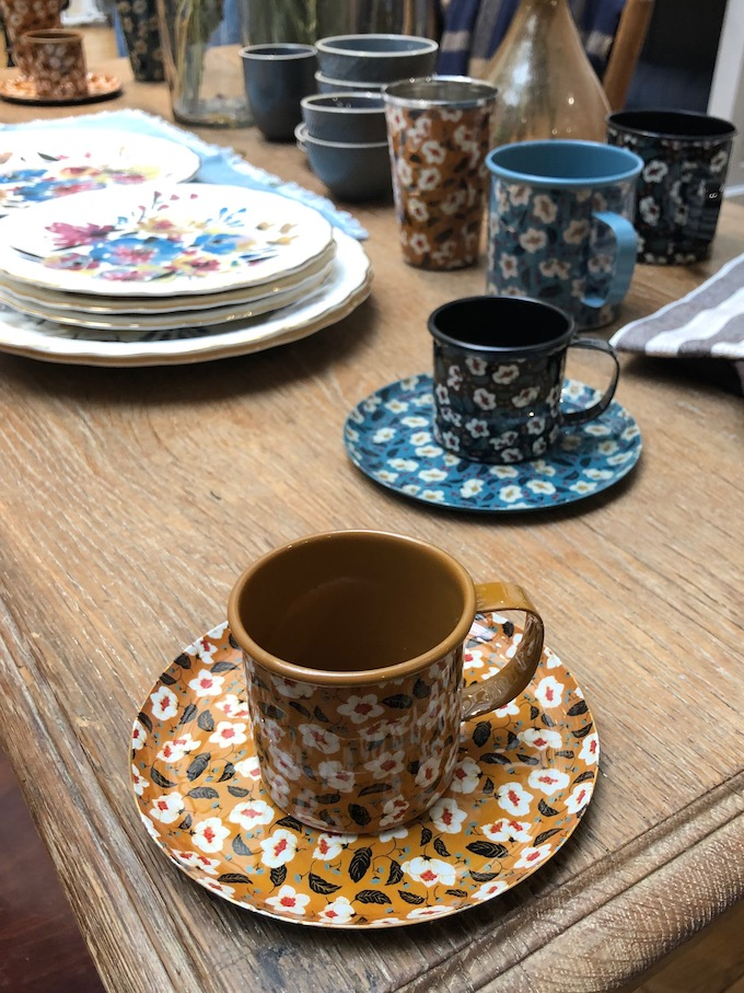 monoprix déco 2019 printemps été tasse bucolique liberty blog déco clem around the corner