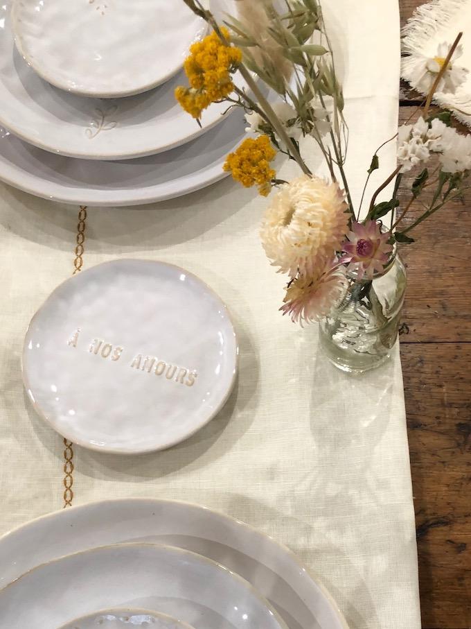 monoprix déco 2019 printemps été vaiselle mariage table cérémonie blog déco clem around the corner