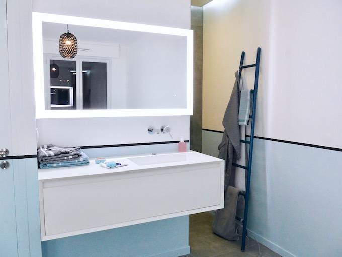 suite parentale avant après salle de bain transformation travaux - blog déco - clem around the corner