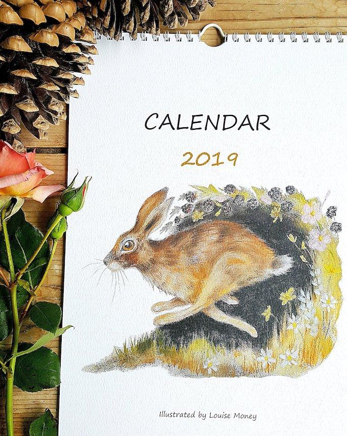 calendrier 2019 original fait main enfant blog déco clem around the corner