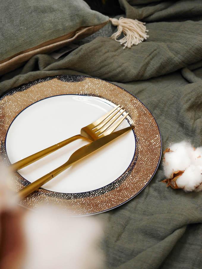 diner romantique de Noël collection absolument maison bhv galeries lafayette - blog déco - Clem around the corner