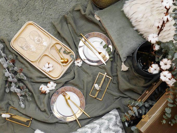 diner romantique de Noël hygge slow life décoration - blog déco - Clem around the corner
