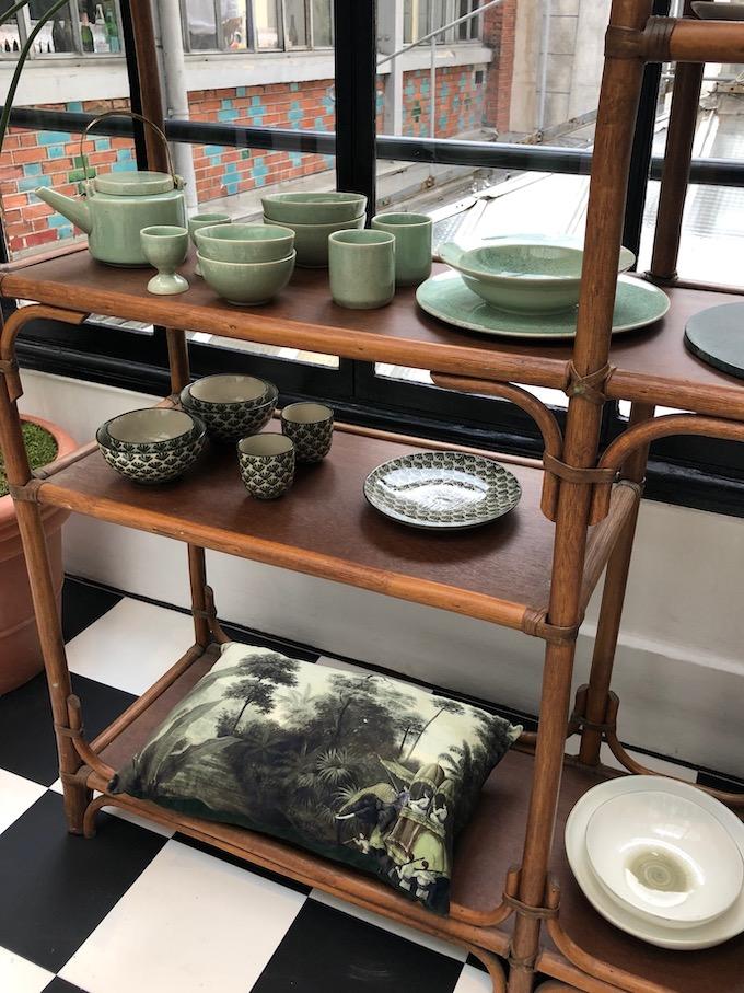 monoprix déco 2019 printemps été apothicaire collection vintage vert tropiques blog déco clem around the corner