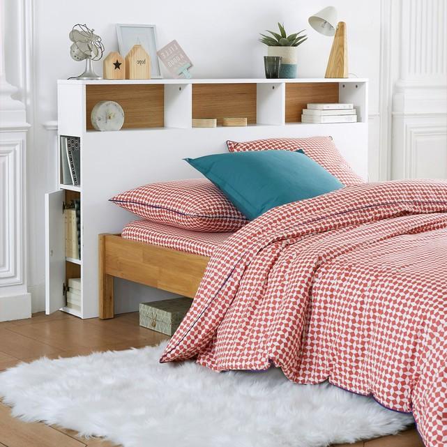 optimiser le rangement tête de lit avec rangement blanc scandinave bois design blog déco clem around the corner