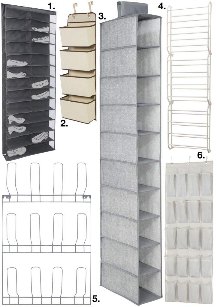 astuces pour ranger les chaussures suspension placard - blog deco - clem around the corner