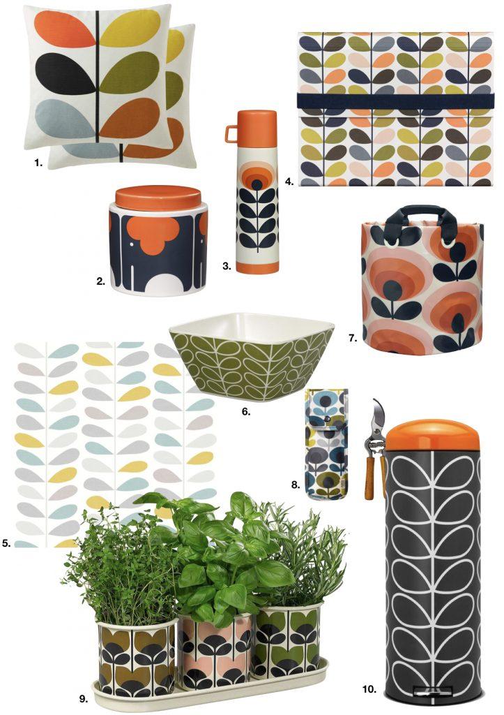 style rétro accessoires cuisine salon jardin - blog déco - clem around the corner