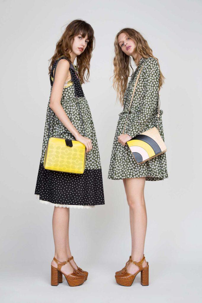 style rétro tenues été jaune noir vert - blog déco - clem around the corner