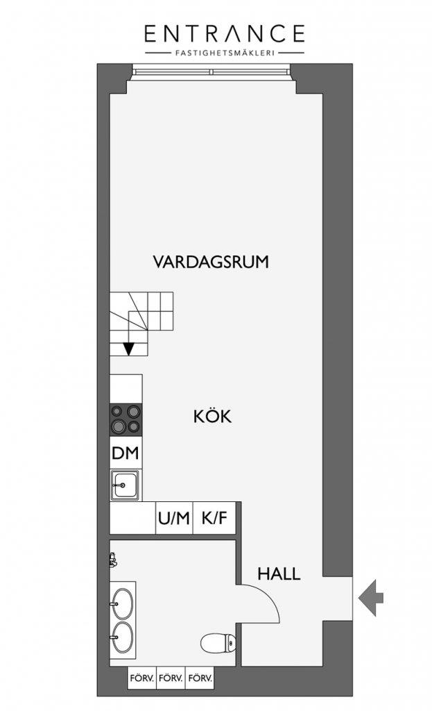 loft suédois schéma premier étage - blog déco - clem around the corner