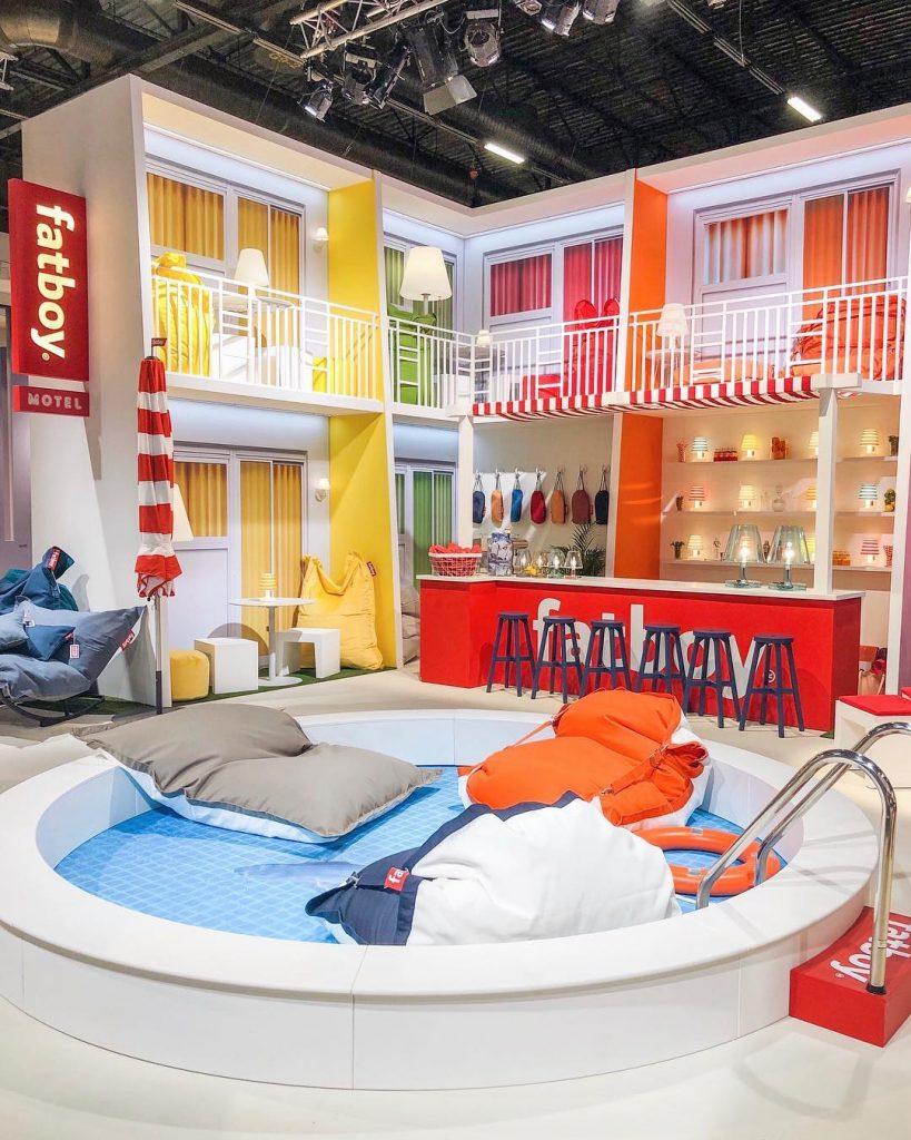 fatboy pouf extérieur flottant piscine Floatzac - blog déco - clem around the corner