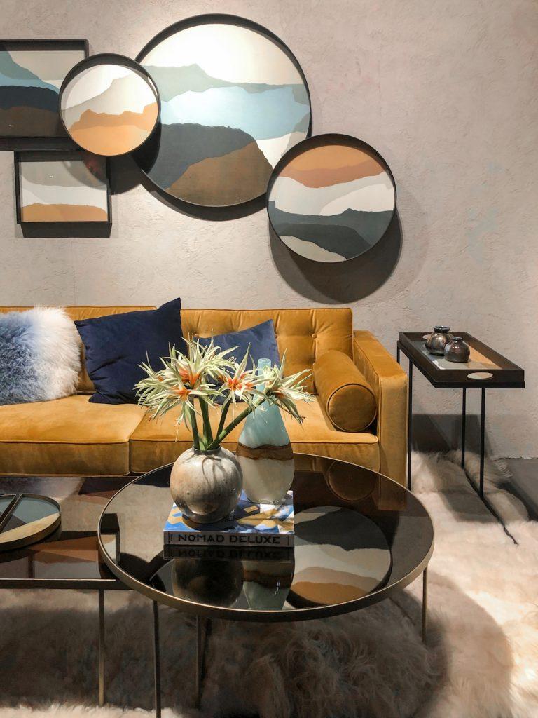 tendances déco 2019 maison et objet janvier 2019 velours jaune moutarde ocre design artsy - blog décoration - clem around the corner