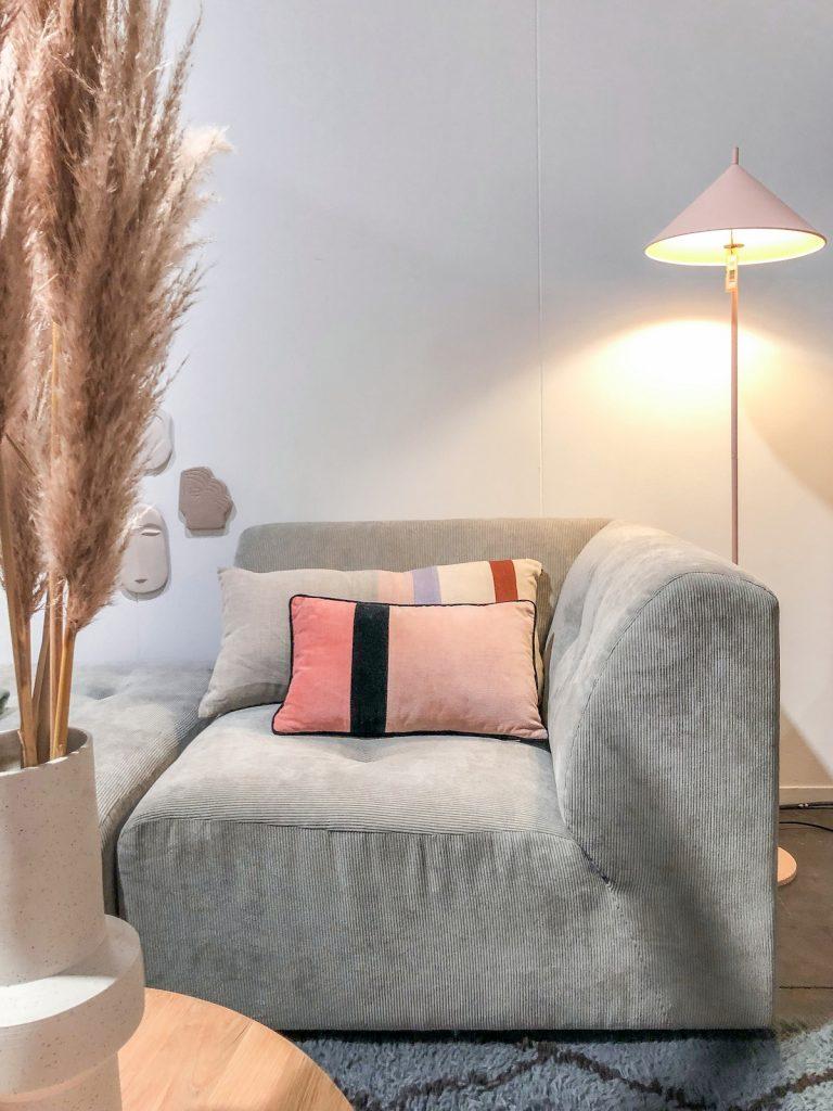 maison et objet janvier 2019 canapé comment nettoyer du velours gris côtelé arts - blog déco - clem around the corner