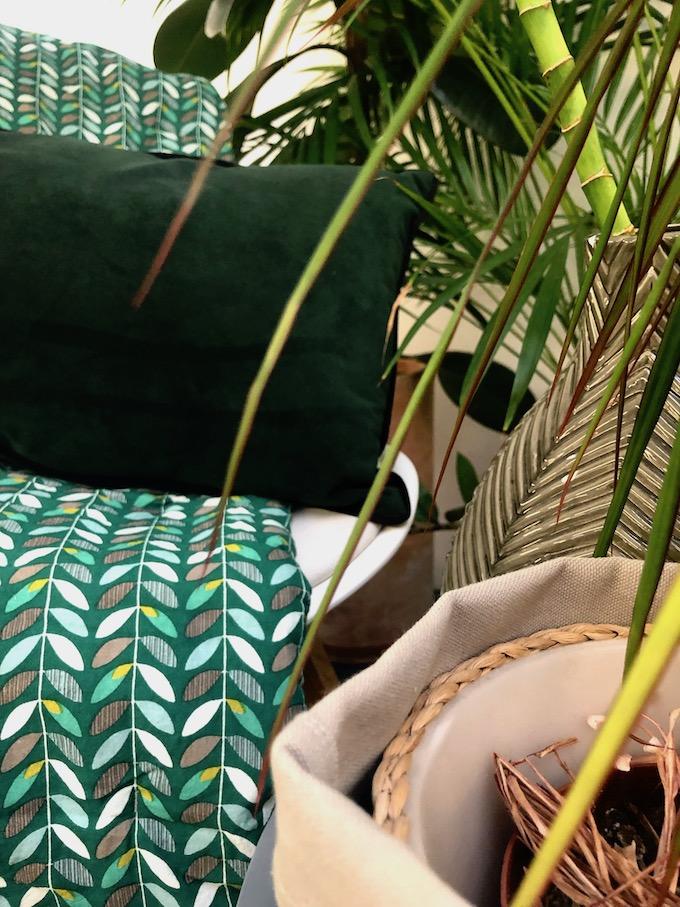 la nature inspire la déco orla kiely bambou bureau - blog décoration - clem around the corner