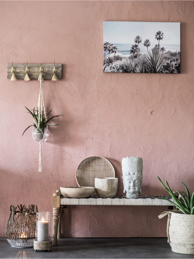 maison ethnique rose nouveau catalogue Maisons du Monde 2019 - blog déco - clem around the corner