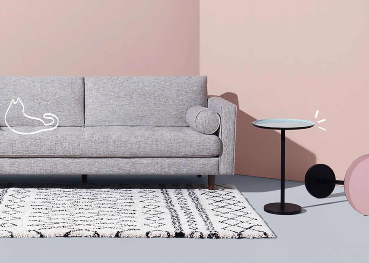 soldes d'hiver made 2019 salon rose blush blog déco clem around the corner