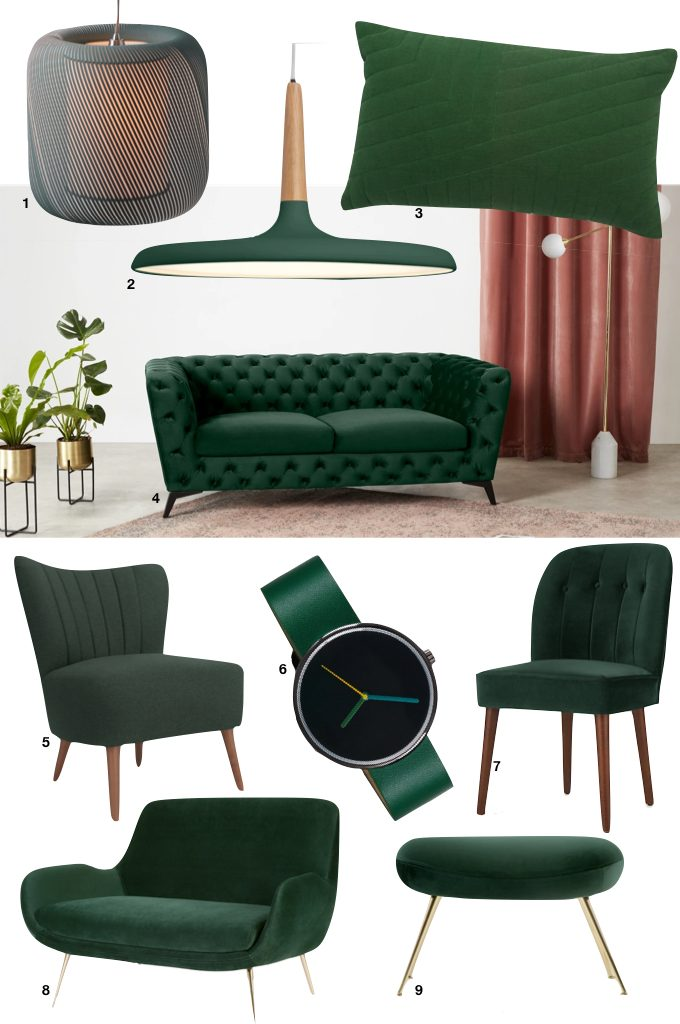 soldes d'hiver made 2019 vert sapin tendance hivernale - blog déco - clem around the corner