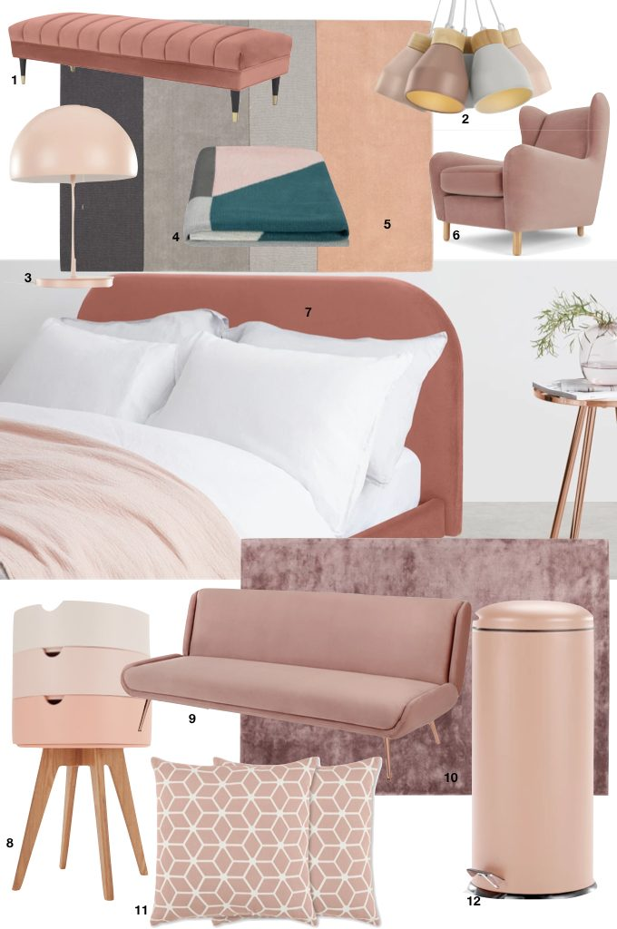 soldes d'hiver made 2019 rose tendance blush blog déco clem around the corner