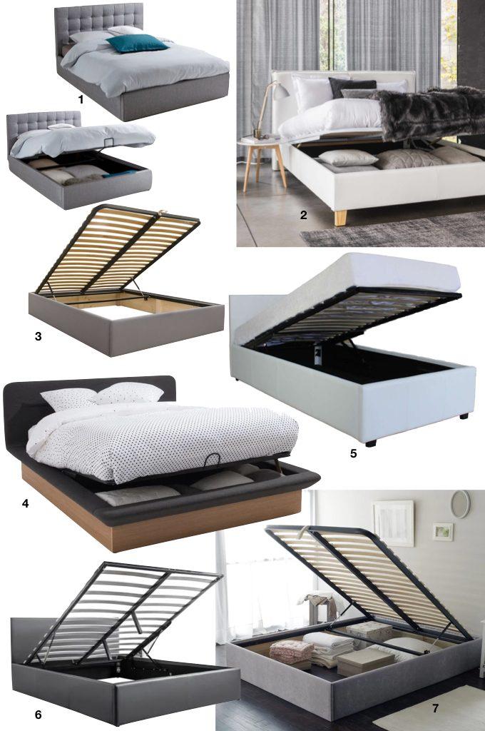 optimiser le rangement espaces de rangement dans la chambre lit coffre design blog déco clem around the corner