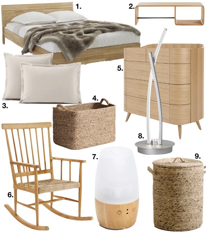 amenagement chambre à coucher feng shui shopping liste blog deco clem around the corner