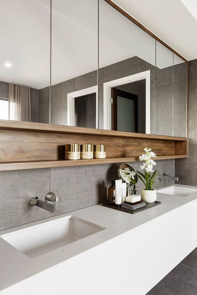 salle de bain ambiance zen plante orchidée luxe blog déco clem around the corner