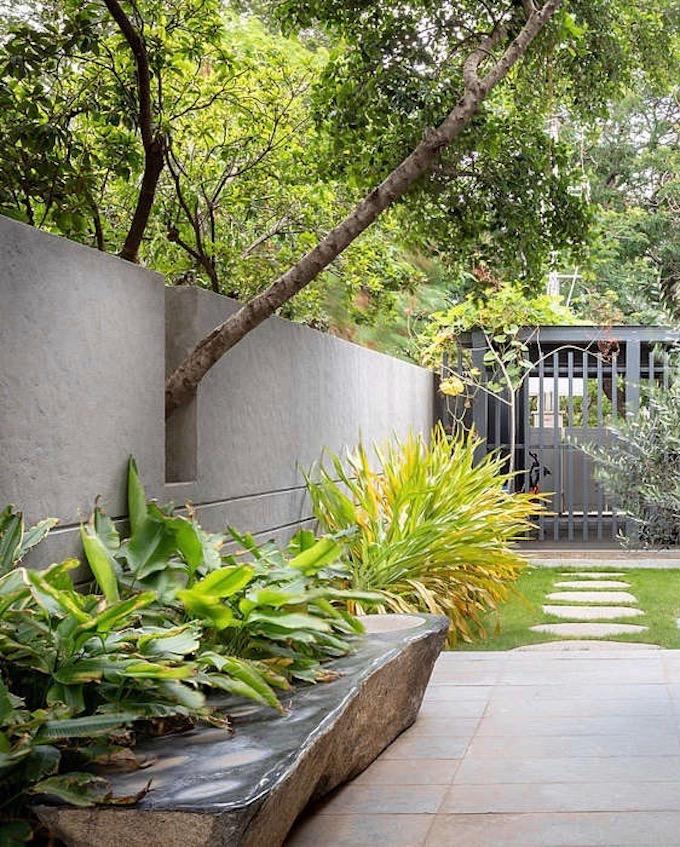 villa tropicale jardin jungle - blog déco - clem around the corner