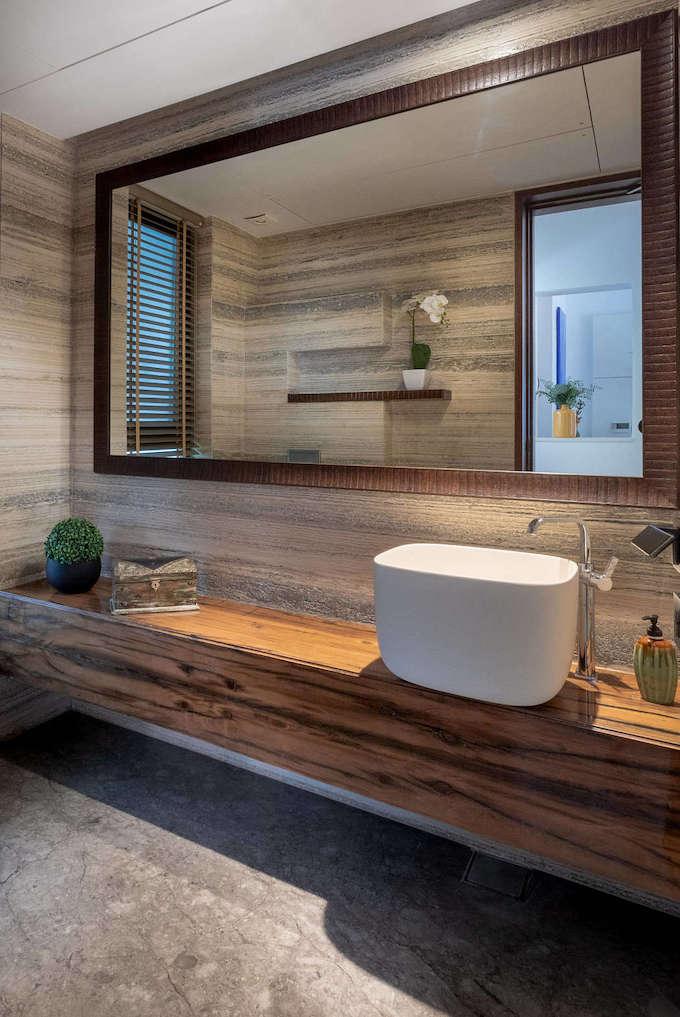 villa tropicale salle de bain style japonais zen - blog déco - clem around the corner