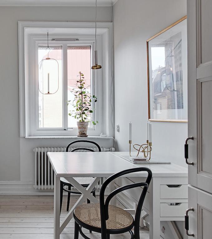 appartement suédois cuisine blanche moderne - blog déco - clem around the corner