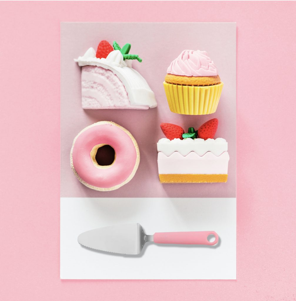 cuisine multicolore ustensile ludique rose millennial pink kitchen - blog déco - clem around the corner